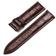 custom hk cow genuine calfskin designer sublimation band display leather watch strap