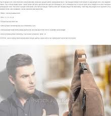 Tas Selempang Pria B290: Membeli jualan online Tas Selempang Pria dengan  harga murah | Lazada Indonesia