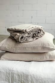 natural linen bedding nz sheet set in oatmeal color fitted flat natural linen bed