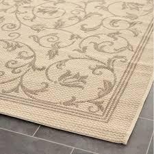 amazing safavieh indoor outdoor rug brown beige courtyard com