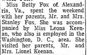 Leona Keenan Victor Shorts - Beckley Post-Herald (Beckley, WVa ...