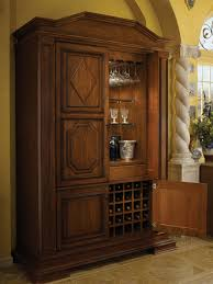 Cherry Bar Cabinet Tall Bar Cabinet By Wood Mode Shown In Antique Sienna Finish On