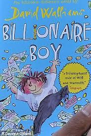 david walliams childrens book billionaire