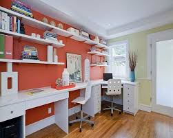 office layouts ideas book. Office \u0026 Workspace : White Bookcase Working Desk Chair Colorful Design Home Layouts Ideas Book N