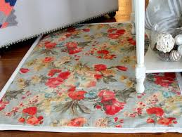 how to make an area rug out of carpet