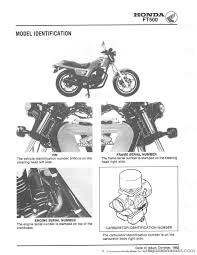 1982 1983 honda ft500 ascot motorcycle service manual repair 1982 1983 honda ft500 ascot service manual