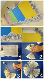 Super cheap way to decorate your classroom! I made a border for my bulletin  boards