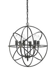 new round metal sphere restoration chandelier hardware orb light fixture canada