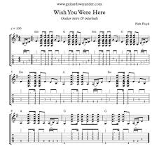 Wish You Were Here Strumming Pattern Amazing Decorating Design