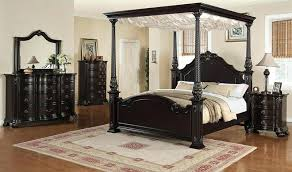 Black Canopy Curtains Bedroom Full Size Black Canopy Bed Full Size ...