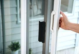 self closing sliding patio screen door designs glass