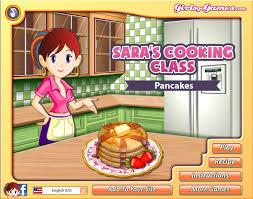 pancakes sara s cooking cl screenshot