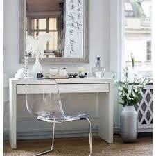 vanity table. Image Is Loading Ikea-Malm-Dressing-Table-Vanity-Glass-top-Desk- Vanity Table L