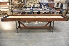 industrial furniture hardware. Custom Shuffleboard Table Gift For Him-Game Room Furniture-Modern Farmhouse-Restoration Hardware Industrial Furniture A