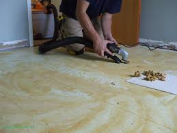 direct removing linoleum glue removal tiling contractor talk