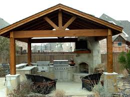 astonishing design outdoor kitchen ideas features brown wooden with regard interior for gazebo plans kitchens wood bbq kits grill area equipment covered