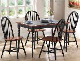 breakfast table and chairs for dining room amepac furniture prepare 1