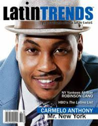 LatinTRENDS features NY Knicks superstar Carmelo Anthony on its October  2012 Cover