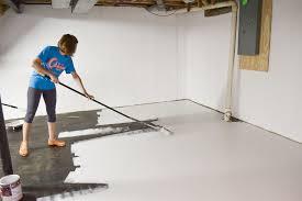 Painting Basement Floor Ideas Impressive Ideas
