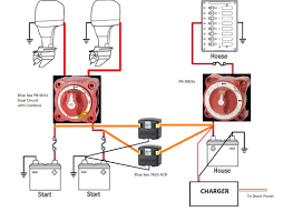 twin outboard 2 batts and wiring hardware suggestions the hull 3 battery system boat at 3 Battery Wiring Diagram