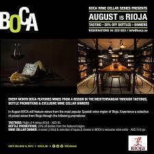 Boca Web Design Boca Boca Monthly Wine Promotion Aug Rioja Web Boca