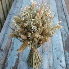rustic baby s breath bouquet