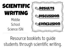 Scientific Writing Lab Write Up Scientific Writing Scaffolds Rubic Results Discussion Conclusion