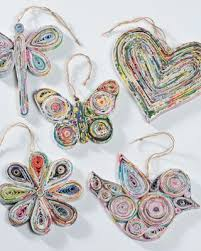 80 Best Creations From Recycled Materials Images On Pinterest Christmas Crafts From Recycled Materials