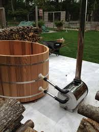 how to assemble a cedar hot tub chofu wood stove