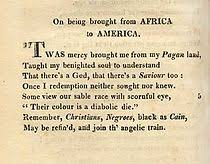 phillis wheatley  on being brought from africa to america by phillis wheatley narrated by teyuna t darris 0 47 8 2015 goodpoetry org