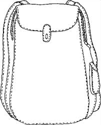 Small Picture Backpack Coloring Pages Best Place to Color
