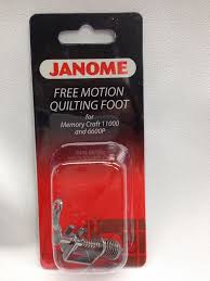 Janome Free Motion Quilting Foot - Blows Sew-n-Vac & Janome Free Motion Quilting Foot Adamdwight.com