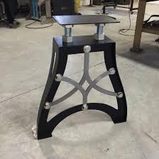 Handcrafted Vintage industrial steampunk metal table legs