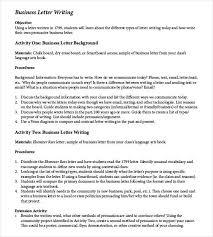 Business Letter Example Under Fontanacountryinn Com