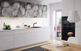 Brilliant Modern White Kitchens Ikea Medium Size Kitchen With Doors In Grey Abstract Models Ideas