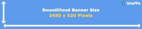 soundcloud image size best soundcloud banner size profile dimensions