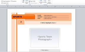 Ms Publisher Lesson Plans Yearbook Template For Microsoft Publisher
