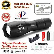 12000 Lumens XM L <b>T6 L2 LED</b> Flashlight Rechargeable Zoomable ...