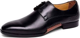 Mens Designer Dress Shoes Carlos Santana Mens Havana Oxford Leather Designer Dress Shoe Casual Fashion