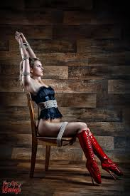 Georgeous models in bondage