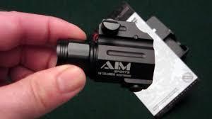 Aim Pistol Light Aim Sports 150 Lumen Tactical Pistol Light Tabletop Review Re Post