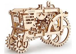 Купить 3D-конструктор Ugears <b>Трактор</b> в интернет-магазине ...