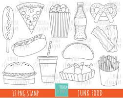 fast food clipart black and white. Perfect White Junk Food Clipart Fast HAMBURGER HOT DOG BLACK AND WHITE In Fast Food Clipart Black And White