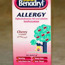 benadryl children s allergy relief