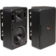 klipsch in wall speakers. klipsch cp6 outdoor speakers- black in wall speakers