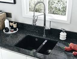 black undermount sink image of nice granite composite bowl with regard to modern kitchen australia black undermount sink
