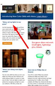 Change Hue Light Colors With Alexa Barbs Connected World