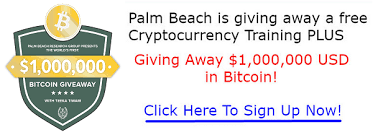 First Bitcoin giveaway palm beach