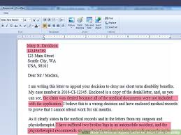 Short Term Disability How To Write An Appeal Letter For Short Term Disability 11