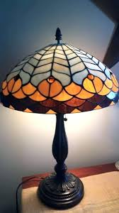 stained glass 2 fancy outstanding tiffany floor lamp shade 26 antique style shades new and replacement only vintage furniture